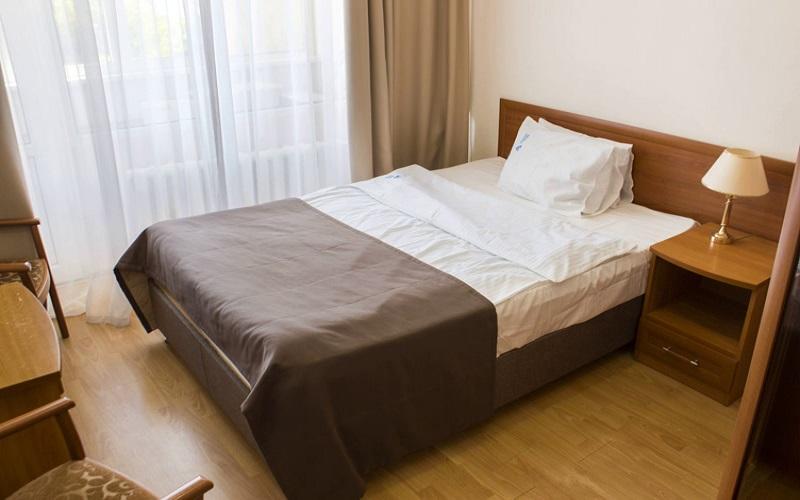 Одноместный номер 1К, 1-комнатный корпус б (1)