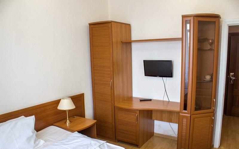 Одноместный номер 1К, 1-комнатный корпус б (3)