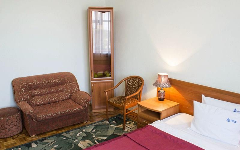 Одноместный номер 1К, 1-комнатный 4 корпус (2)